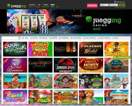 Juegging casino site